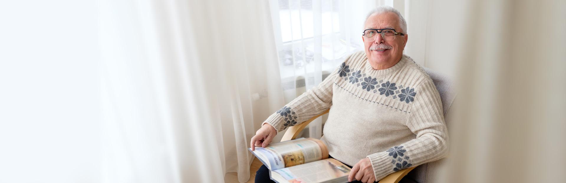 Dom Seniora - Pobyt stały lub krótkoterminowy